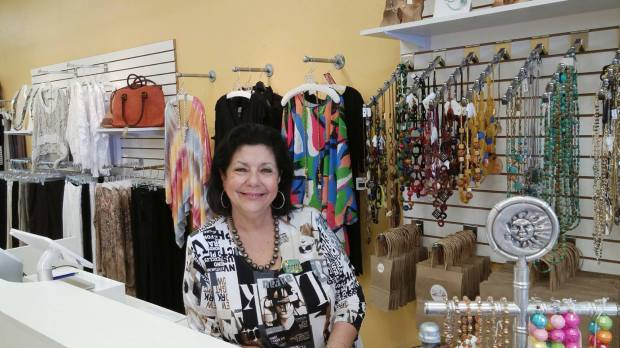 Owner Letty Tijerina at Elle & Elle Boutique